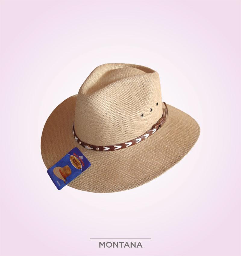 Sombrero Montana Yute – Sombreros y pochos de Colombia 326f7eb8378