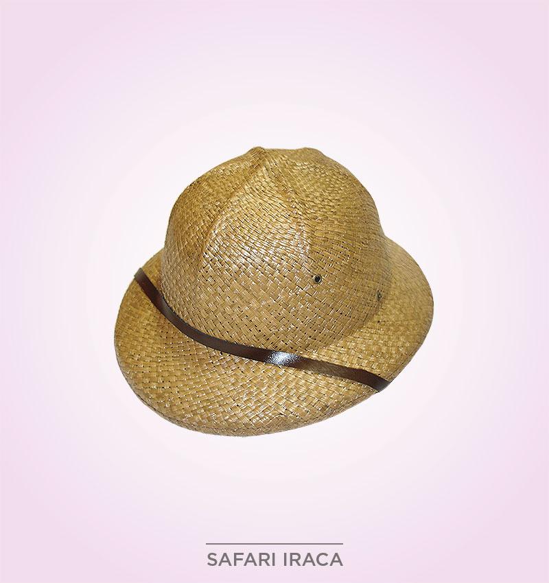 super especiales gama muy codiciada de ventas especiales Sombrero Safari Iraca
