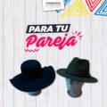 Combo Pareja – Sombrero Pamela y Fedora